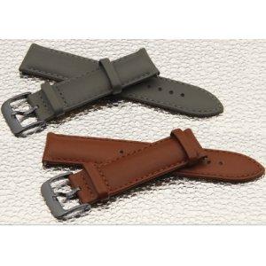 Фирменный сменный кожаный ремешок для умных смарт-часов Samsung Gear S2 Classic R7320/R730 из качественной импортной кожи