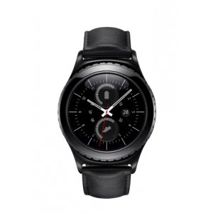 Фирменная оригинальная защитная пленка для умных смарт-часов Samsung Gear S2/S2 Classic R720 / R7320 глянцевая