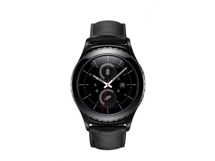 Фирменная оригинальная защитная пленка для умных смарт-часов Samsung Gear S2/S2 Classic R720 / R7320 глянцевая..