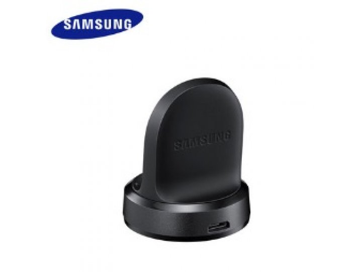 Фирменное оригинальное USB-зарядное устройство/док-станция для умных смарт-часов Samsung Gear S2 R720 + гарант..