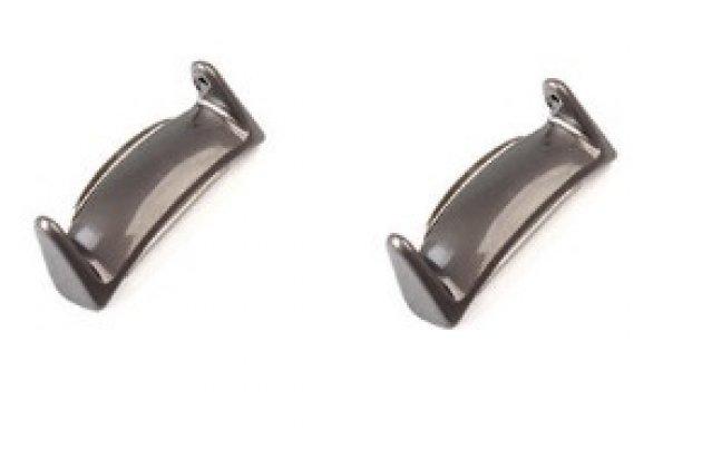Фирменный сменный металлический разъем/ адаптер/ крепёж для присоединения/ прикрепления ремешка на смарт-часы Samsung Gear S2 R720 из нержавеющей стали