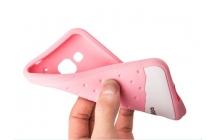"""Фирменная необычная уникальная полимерная мягкая задняя панель-чехол-накладка для Samsung Galaxy Core Prime G360 """"тематика Андроид в Белом Шоколаде"""""""