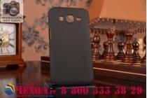 Фирменная задняя панель-крышка-накладка из тончайшего и прочного пластика для Samsung Galaxy Core Prime G360 черная