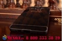 Фирменная металлическая задняя панель-крышка-накладка из тончайшего облегченного авиационного алюминия для Samsung Galaxy A5 SM-A500F/H черная