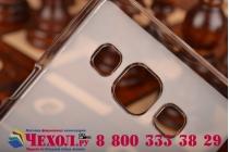 Фирменная ультра-тонкая пластиковая задняя панель-чехол-накладка для Samsung Galaxy A5 прозрачная