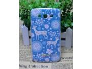 Фирменная роскошная задняя панель-чехол-накладка с безумно красивым расписным узором на Samsung Galaxy Grand N..