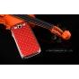 Фирменная роскошная задняя-панель-накладка декорированная кристалликами на Samsung Galaxy Grand Neo GT-I9060/D..