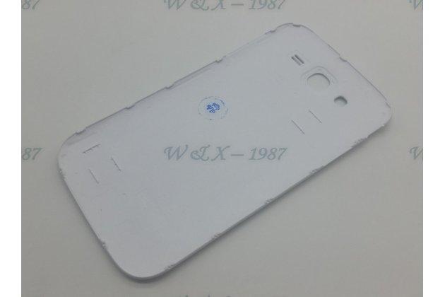 Фирменная задняя панель-крышка-накладка из тончайшего и прочного пластика для Samsung Galaxy Grand Neo GT-I9060/DS белая