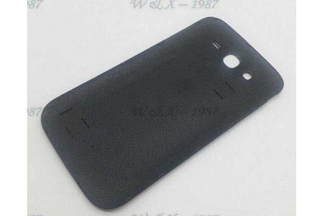Фирменная задняя панель-крышка-накладка из тончайшего и прочного пластика для Samsung Galaxy Grand Neo GT-I9060/DS черная