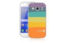 """Фирменная необычная из легчайшего и тончайшего пластика задняя панель-чехол-накладка для Samsung Galaxy Ace Style LTE SM-G357FZ """"тематика Все цвета Радуги"""""""