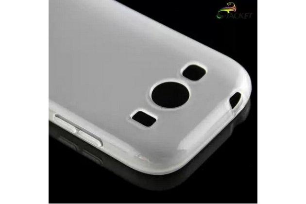 Фирменная ультра-тонкая полимерная из мягкого качественного силикона задняя панель-чехол-накладка для Samsung Galaxy Ace Style LTE SM-G357FZ белая