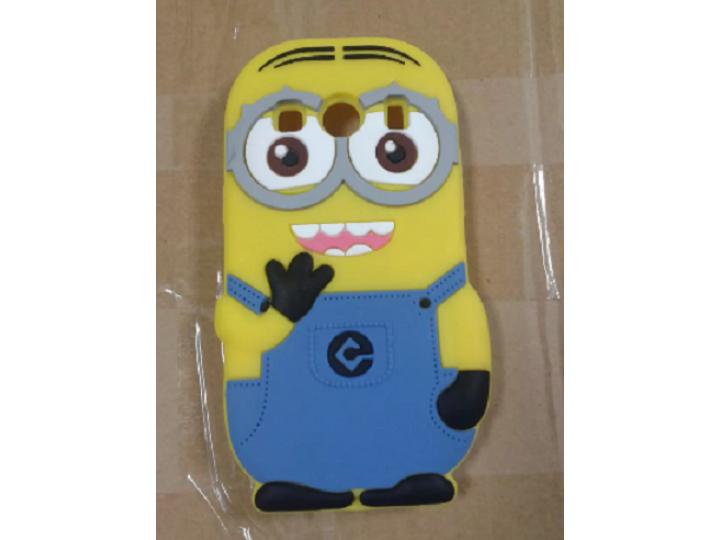 Фирменная задняя панель-чехол-накладка с объёмным 3D изображением для Samsung Galaxy Ace Style LTE SM-G357FZ