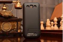 Чехол-бампер со встроенной усиленной мощной батарей-аккумулятором большой повышенной расширенной ёмкости 3200mAh для Samsung Galaxy Grand 2 SM-G7102 черный + гарантия