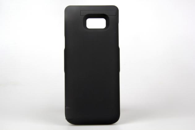 """Чехол-бампер со встроенной усиленной мощной батарей-аккумулятором большой повышенной расширенной ёмкости 6500mAh для Samsung Galaxy Note 7 SM-N930F 5.7"""" черный + гарантия"""