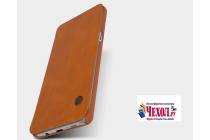 """Фирменный премиальный элитный чехол-книжка из качественной импортной кожи с мульти-подставкой и визитницей для Samsung Galaxy Note 7 SM-N930F 5.7"""" """"Ретро"""" коричневый"""