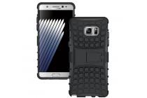 """Противоударный усиленный ударопрочный фирменный чехол-бампер-пенал для Samsung Galaxy Note 7 SM-N930F 5.7"""" черный"""