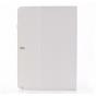 Фирменный чехол-книжка для Samsung Galaxy Note Pro 12.2 SM-P900/P901/P905 белый натуральная кожа