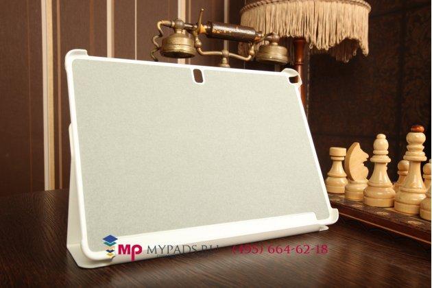 """Чехол с логотипом для Samsung Galaxy Note Pro 12.2 SM-P9000/P9010/P9050 с дизайном """"Book Cover"""" белый"""