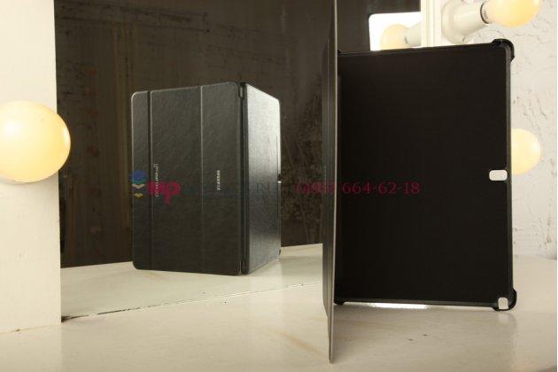 """Чехол с логотипом для Samsung Galaxy Note Pro 12.2 SM-P9000/P9010/P9050 с дизайном """"Book Cover"""" черный"""