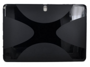 Фирменная ультра-тонкая полимерная из мягкого качественного силикона задняя панель-чехол-накладка для планшета..
