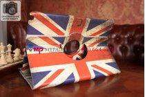 "Фирменный чехол для Samsung Galaxy Note Pro 12.2 ""тематика ретро Британский флаг"""