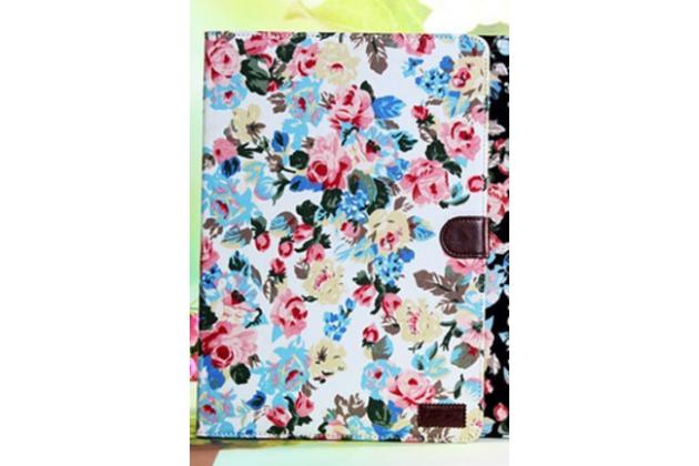 """Фирменный необычный чехол для Samsung Galaxy Note Pro 12.2 SM-P900/P901/P905 """"тематика Винтажные Розы"""""""