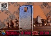 Фирменная из тонкого и лёгкого пластика задняя панель-чехол-накладка для Samsung Galaxy S5 SM-G900H/G900F проз..