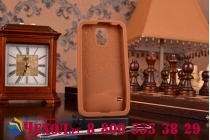 """Фирменная необычная уникальная полимерная мягкая задняя панель-чехол-накладка для Samsung Galaxy S5 SM-G900H/G900F """"тематика Андроид в тёмном Шоколаде"""""""