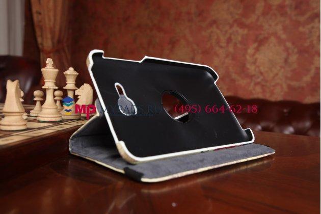 """Чехол роторный для Samsung Galaxy Tab 3 Lite 7.0 SM-T110/T111 """"тематика я люблю Лондон"""""""