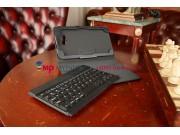 Фирменный оригинальный чехол со съёмной Bluetooth-клавиатурой для Samsung Galaxy Tab 3 Lite 7.0 SM-T110/T111 ч..