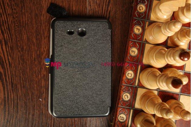 """Фирменный умный чехол самый тонкий в мире для Samsung Galaxy Tab 3 Lite 7.0 SM-T110/T111  """"Il Sottile"""" черный пластиковый Италия"""