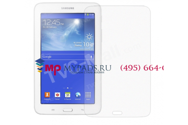 Защитная пленка для планшета Samsung Galaxy Tab 3 Lite 7.0 SM-T110/T111 матовая