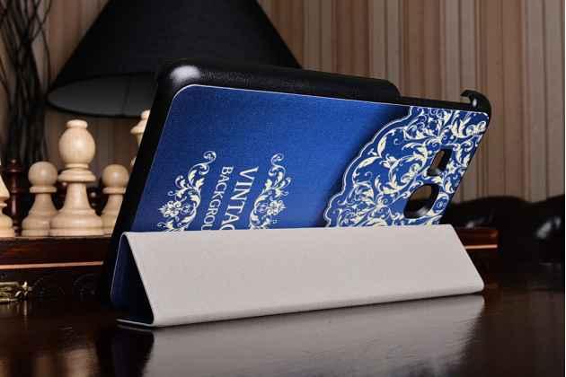 """Фирменный необычный чехол для Samsung Galaxy Tab A 2016 7.0 SM-T285/ T280 / T280N / T288 / T285C"""" """"тематика книга в Винтажном стиле"""""""
