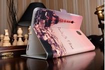 """Фирменный уникальный необычный чехол-подставка для Samsung Galaxy Tab A 8.0 SM-T350/T351/T355"""" """"тематика Париж"""""""