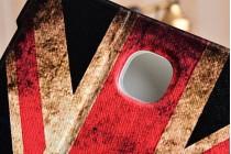 "Фирменный чехол для Samsung Galaxy Tab A 8.0 SM-T350/T351/T355 ""тематика ретро Британский флаг"""