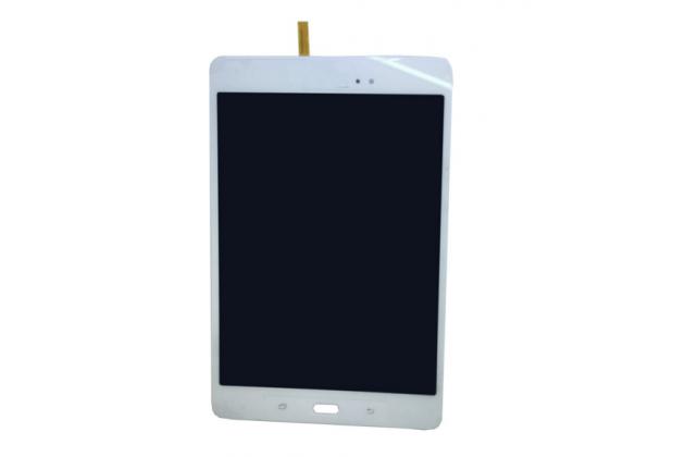 Фирменный LCD-ЖК-сенсорный дисплей-экран-стекло с тачскрином на планшет Samsung Galaxy Tab A 8.0 SM-T350/T351/T355  белый и инструменты для вскрытия + гарантия