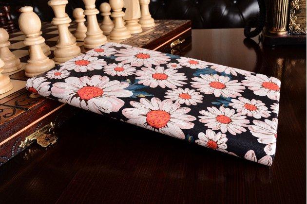 """Фирменный уникальный необычный чехол-подставка для Samsung Galaxy Tab A 8.0 SM-T350/T351/T355"""" """"тематика ромашки"""""""