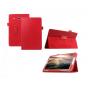 Чехол для Samsung Galaxy Tab E 8.0 SM-T377 красный кожаный..