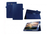 Чехол для Samsung Galaxy Tab E 8.0 SM-T377 синий кожаный..