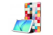 "Фирменный необычный чехол для  Samsung Galaxy Tab E 8.0 SM-T377 "" ""тематика яркая Мозаика"""