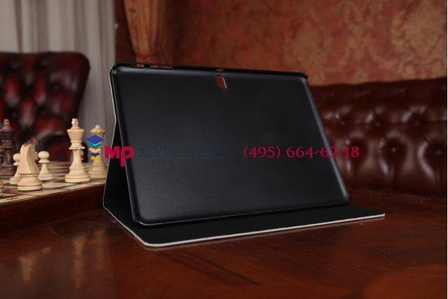 "Чехол-футляр для Samsung Galaxy Tab Pro 10.1 ""тематика Тауэрский мост Англия"" кожаный"