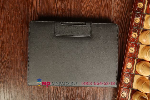 Фирменный оригинальный чехол со съёмной Bluetooth-клавиатурой для Samsung Galaxy Tab Pro 10.1 SM-T520/T525 черный кожаный + гарантия