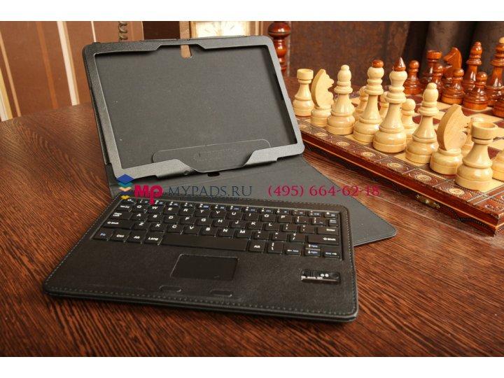 Фирменный оригинальный чехол со съёмной Bluetooth-клавиатурой для Samsung Galaxy Tab Pro 10.1 SM-T520/T525 чер..