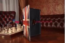 "Фирменный чехол роторный оборотный для Samsung Galaxy Tab Pro 10.1 SM-T520/T525 ""тематика ретро Британский флаг"""