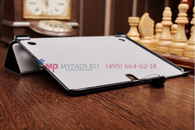"""Фирменный умный чехол самый тонкий в мире для Samsung Galaxy Tab S 10.5 """"Il Sottile"""" черный пластиковый Италия"""