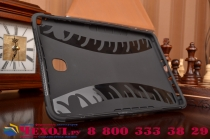 Противоударный усиленный ударопрочный фирменный чехол-бампер-пенал для Samsung Galaxy Tab A 8.0 SM-T350/T351/T355 черный