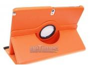Чехол для Samsung Galaxy Note 10.1 2014 edition SM-P600/P601/P605 поворотный роторный оборотный оранжевый кожа..