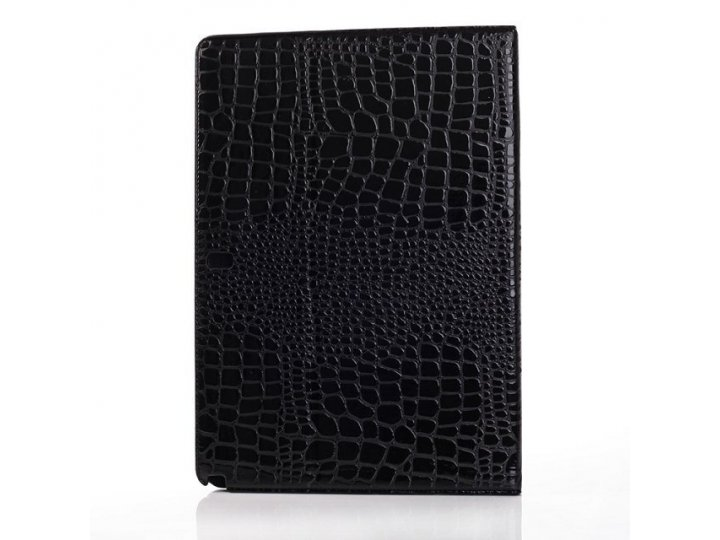 Фирменный чехол для Samsung Galaxy Note Pro 12.2 SM-P900/P901/P905 кожа крокодила цвет черный..