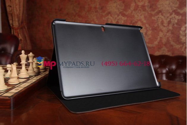 Фирменный чехол для Samsung Galaxy Note Pro 12.2 SM-P900/P901/P905 кожа крокодила шоколадный