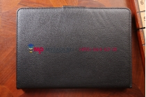 Фирменный чехол со съёмной Bluetooth-клавиатурой для Samsung Galaxy Note Pro 12.2 SM-P900/P901/P905 черный кожаный + гарантия